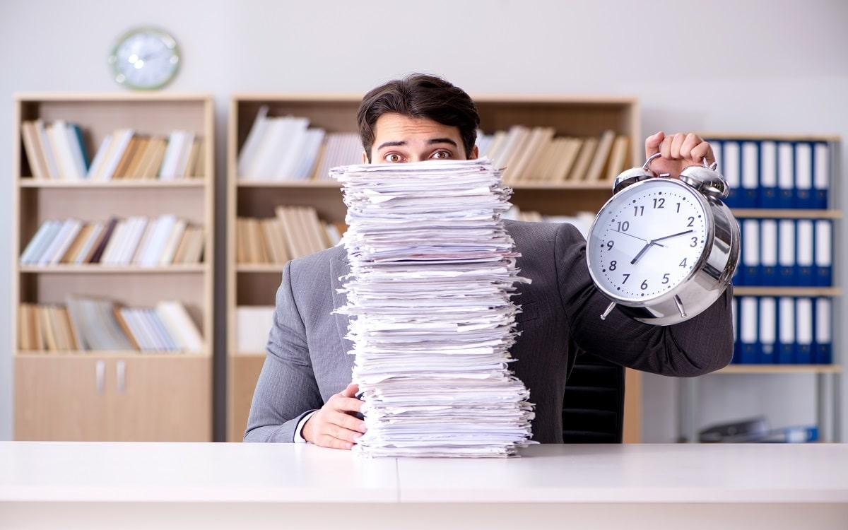 man-has-many-tasks